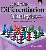 Applying Differentiation Strategies Grades K-2