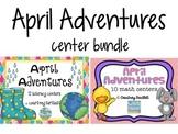 April Adventures center bundle