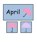 April Calendar Printables