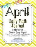 April Daily Math Journal (Common Core Aligned)