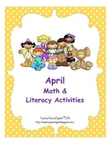 April Easter Math & Literacy Activities