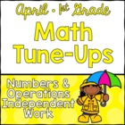 April Math First Grade