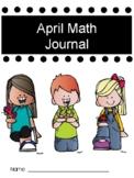 April Math Journal
