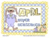April Super Sentences
