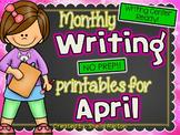 April Writing Center Activities