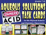 Aqueous Solutions Task Cards