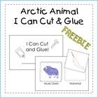 I Can Cut and Glue: Arctic Animals {FREEBIE}