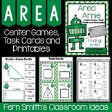 Area Arnie Mega Math Pack - Finding Area Printables, Cente
