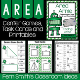 Area Arnie - Area Center Games, Task Cards and Printables Bundle