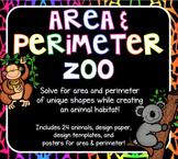 Area & Perimeter Zoo - Practicing Area & Perimeter
