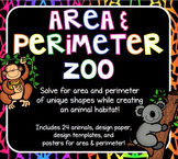 Area & Perimeter Zoo - Practicing Area & Perimeter