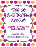 Area of Composite Figures Station Activity and Exit Ticket