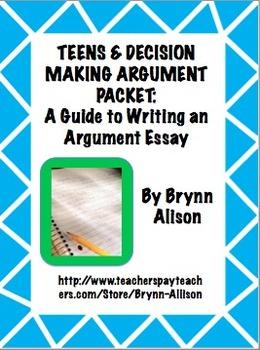 argument essay thesis generator