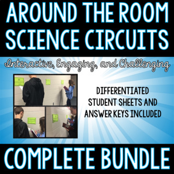 Around the Room-Science Circuit Bundle (15 Complete Sets)