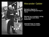 Art History: Calder & Wire Art!
