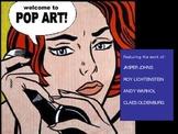 Art History: Pop Art!  Recreating large sculptures