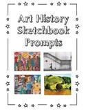 Art History Sketchbook Prompt Cards Set #1