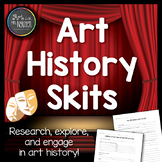 Art History Skits - Great engaging end-of-the-year project!