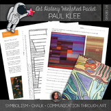 Paul Klee Abstract Art Lesson; Take a Line for a Walk