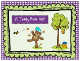 Art, Literacy, Math, and Center Activities with a Teddy Be