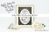 Art Prints {Printable & Frameable}: Glitter in Our Veins