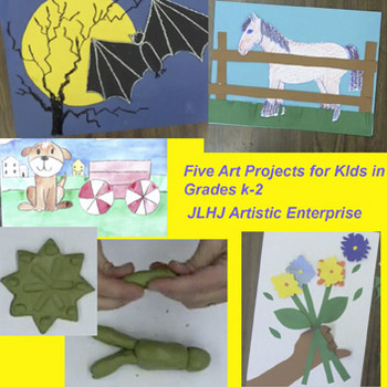 Art Projects for Kids In Grades k-2 DVD.