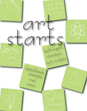 Art Starts: bellringers, starters, exit tickets, sketchboo