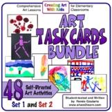 Art Task Cards - Complete Set