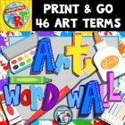 Art Word Wall Elementary