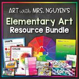 Art with Mrs. Nguyen's (Gram) Growing Elementary Art Bundle