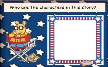 Arthur's Reading Race SmartBoard Comprehension Activity