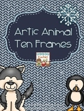 Artic Animal Ten Frames