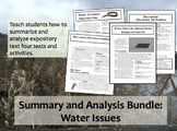 Article Response Bundle: Water Issues