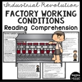 Article on Factory Work during Industrial Revolution, ques