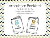 Articulation Booklets!