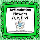 Articulation Flowers /S, Z, F, V/
