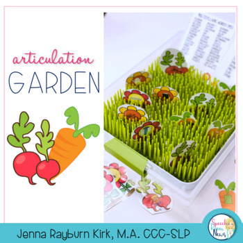 Articulation Garden: Interactive Sensory Tub Activity
