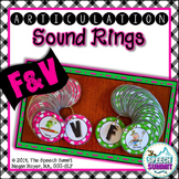 Articulation Sound Rings: F and V