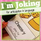 Articulation and Language Therapy Joke Books:  I'm Joking!