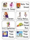 Artsy Teacher Cafe -- Book Bin Labels for Classroom Library