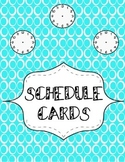 Artsy Teacher Cafe -- Rotation/Specials Daily Schedule Cards