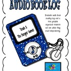 Audiobook Log and Freebie Reader Response Organizer