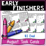 August Early Finishers {$1 Deal}