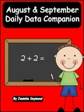 August & September:  Daily Data Companion