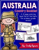 Australia Booklet (A Country Study!)