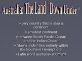 Australia: Government, Geography, Economy, History & Peopl