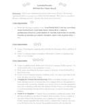 Australia & Oceania Tiered Assignment/Project