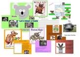 Australia Unit with Mem Fox Books on Promethean Board