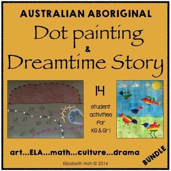 Australian Aboriginal Dot Painting & Dreamtime Story: The Arts, Math & Culture