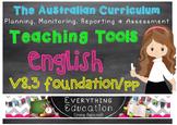 Australian Curriculum English Foundation Monitoring and Pl